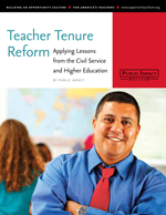 Teacher Tenure Reform cover